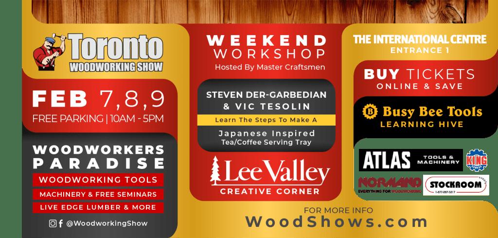 Toronto Woodworking Show Q107 Toronto