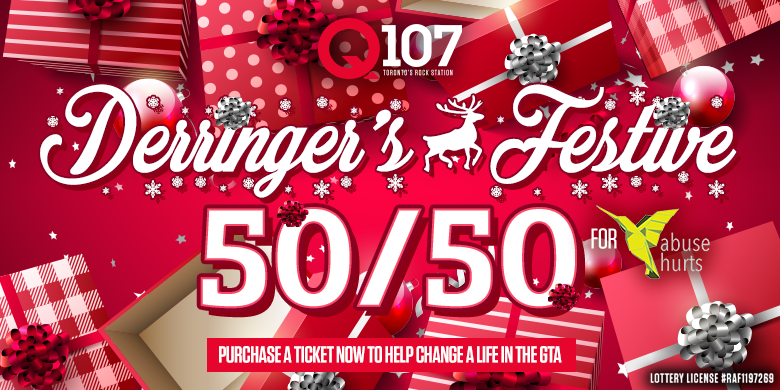 Derringer's Festive 50/50 in Support of Abuse Hurts