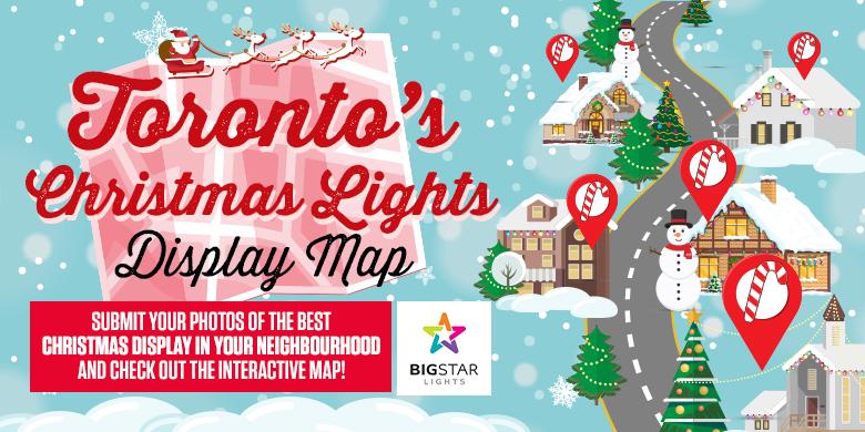 Toronto's Christmas Lights Display
