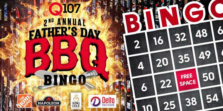 Q107's 2nd Annual Father's Day BBQ Bingo